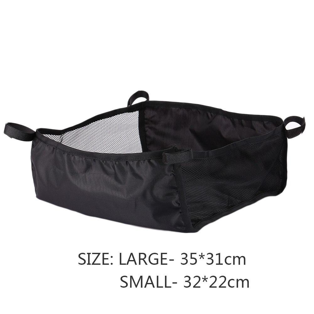 Коляска для новорожденных корзина для коляски Органайзер корзина для коляски креативная 2 размера Портативная сумка для подгузников - Цвет: small size