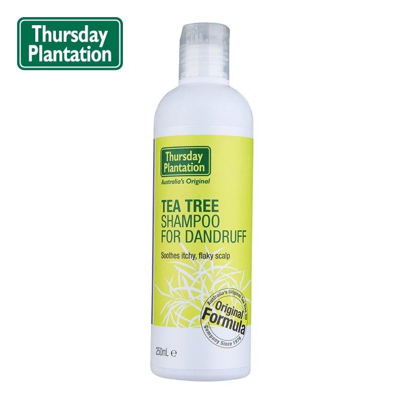 Original Australia 100% pure Tea Tree Oil Anti-Dandruff Shampoo for Shiny Hair Oily Cleanse Scalp &Hair Soothes itchy scalp серум за растеж на мигли
