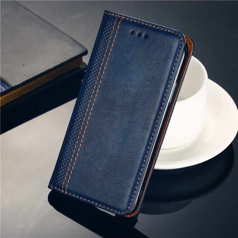 Samsung Galaxy S8 kılıf Kapak Telefon Deri Flip Kitap Için Galaxy S8 G950 G950F G950A G950J G950P G950T G950U g950W G9500 kılıfı