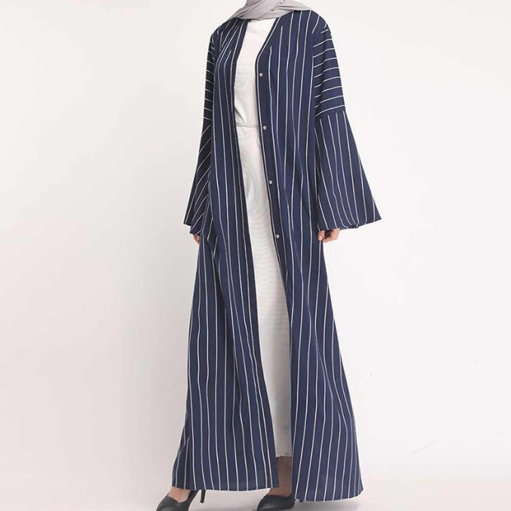 Арабское платье кафтан абайя кимоно Дубай халат мусульманский хиджаб платье Абая для женщин Кафтан марокаин Катара турецкая исламская одежда