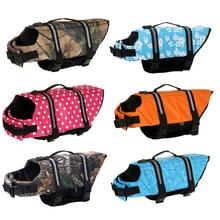 owlwin Dog Life Jacket Pet Saver Vest Swimming Preserver Puppy Swimwear Surfing Reflective Stripes