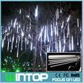 50 CM 100 V ~ 240 V levou tubo de meteoros Tubes chuveiro de chuva de meteoros romântico corda para decoração de natal / casamento / festa
