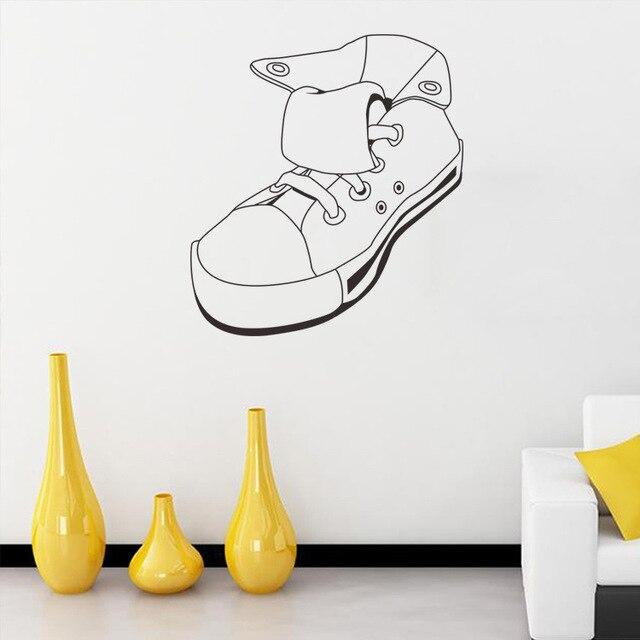 Salon Creative Diy Sticker Vinyle Chaussures Art Decor Home Sport 1fy5Yqcpw