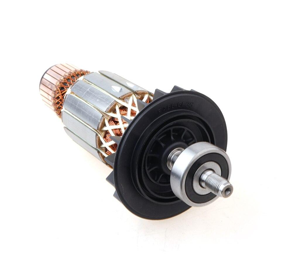 Accessoires d'origine meuleuse D'angle rotor Composants TWS6600/6700 GWS6-100/8-100/14-150 TWS6600/TWS6700 GWS6-100 GWS6-100E GWS7-1
