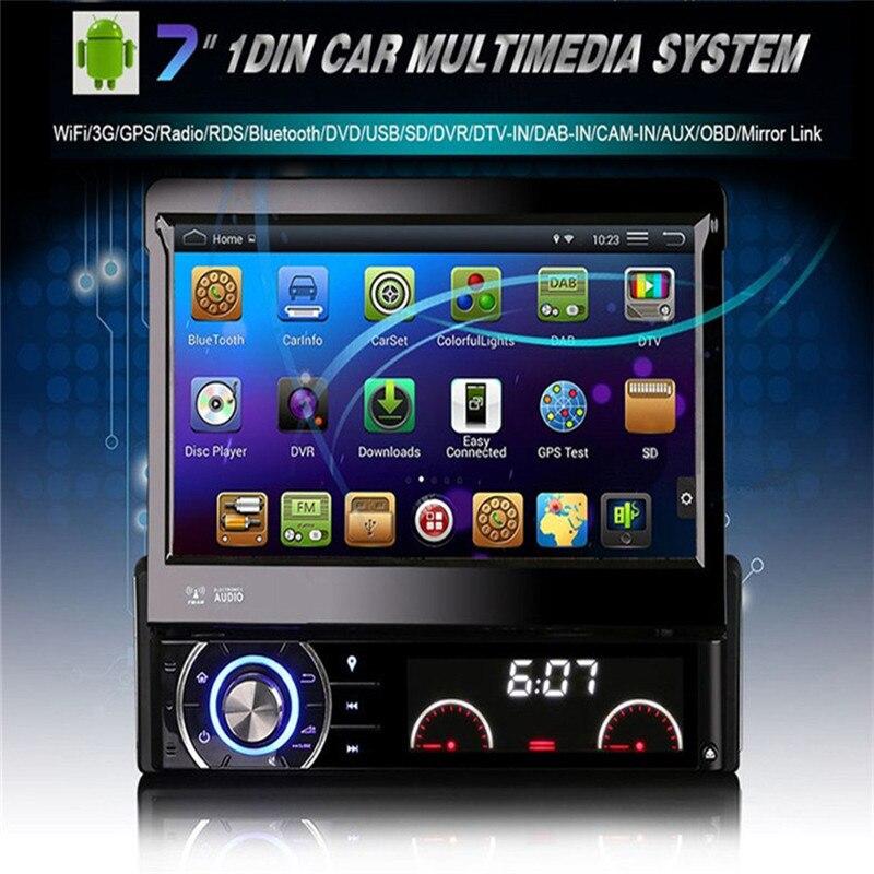universal quad core android car dvd 1 din car video player. Black Bedroom Furniture Sets. Home Design Ideas