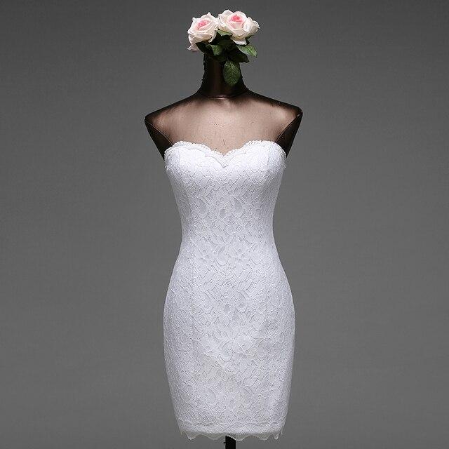 שירי שירים באיכות גבוהה 2018 קצר robe de mariage vestido דה noiva שמלות כלה בתולת ים שמלת כלה משלוח חינם