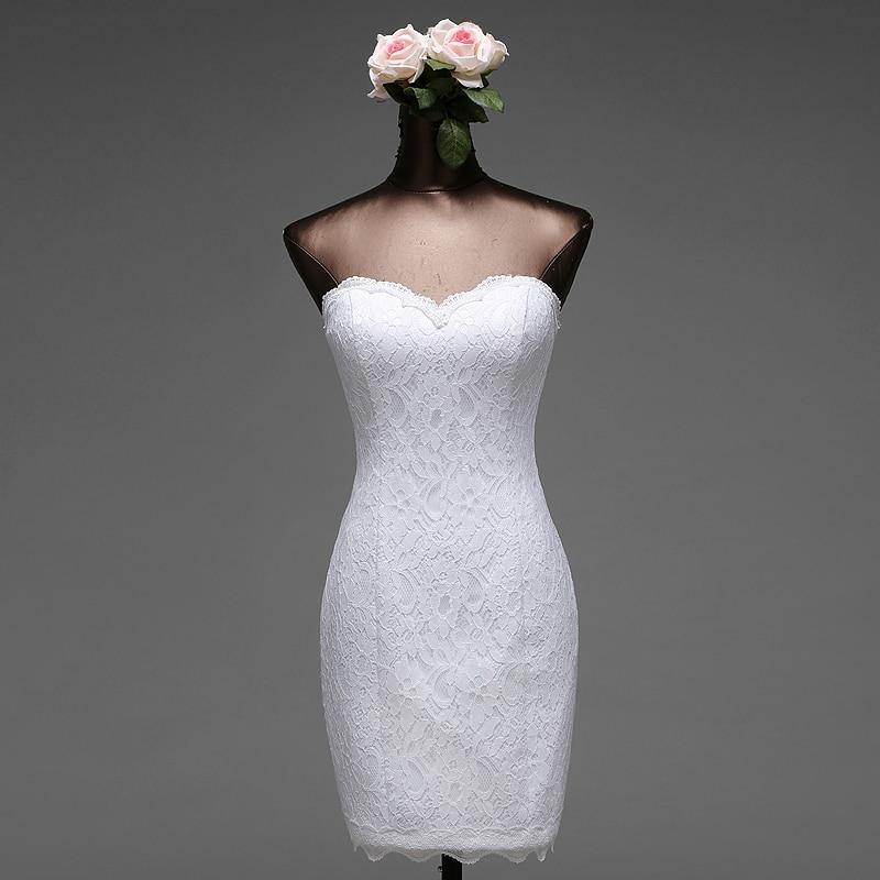 Poèmes chansons haute qualité 2018 courte sirène robes de mariée vestido de noiva robe de mariage robe de mariée livraison gratuite