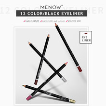 12 colors Waterproof Liquid Eyeliner Pencil Eye Liner Pen Lady Cosmetics Make Up Marker Beauty Essentials Contour