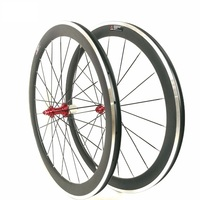 Alloy Brake Edge Carbon Wheels Clincher Road Bicycle Wheelset 38MM 50MM 60MM 90MM Carbon Wheelset