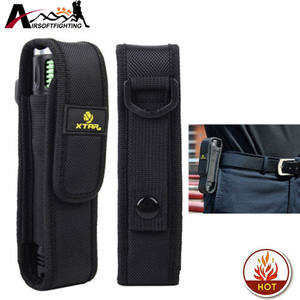 Pouch Holster-Case Led-Torch Lenser-Flashlight Molle Hiking Outdoor Camping XTAR