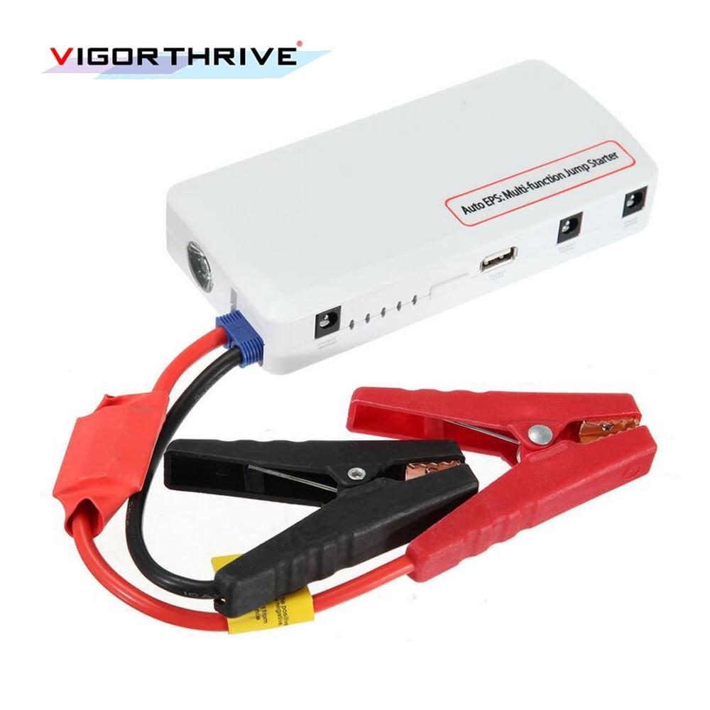 newest 12V Multi-function Jump Starter Car Emergency 1 USB port Power Bank Battery Charger for diesel and gasoline car