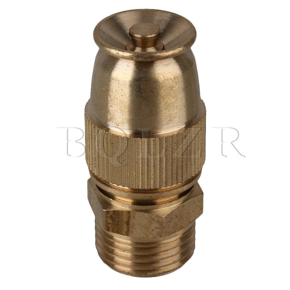 ᓂBQLZR Gold Adjustable Atomizing Lawn Sprinkler Garden Spray Nozzle ...