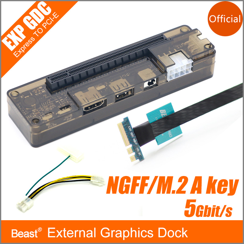 PCIe PCI-E PCI Express Card Laptop EXP GDC Notebook External Independent Video Card Dock NGFF M.2 A / E key interface Version pcie pci e v8 4d exp gdc external laptop video card dock laptop docking station mini pci e interface version new arrived