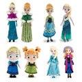 2017 Brinquedos Троллей Принцесса Плюшевые Куклы Эльза и Анна и Куклы и Аксессуары Кристофф Свен олаф Плюшевые Игрушки на День Рождения подарок