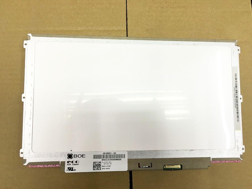 For BOE HB125WX1 100 HB125WX1 100 LED Screen Matrix for Laptop 12 5 1366X768 HD 30Pin