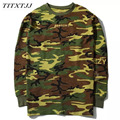 Long-sleeved T-shirts Hoodies Men Women YEEZUS Hiphop Casual Camouflage yeezy SEASON 2 Kanye West Sweatshirts Tee Shirts MCT026