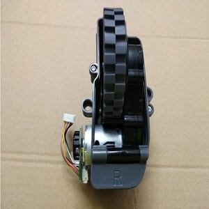 Image 4 - الروبوت فراغ نظافة الاكسسوارات يسار يمين عجلات ل الباندا X500 روبوت مكنسة كهربائية أجزاء