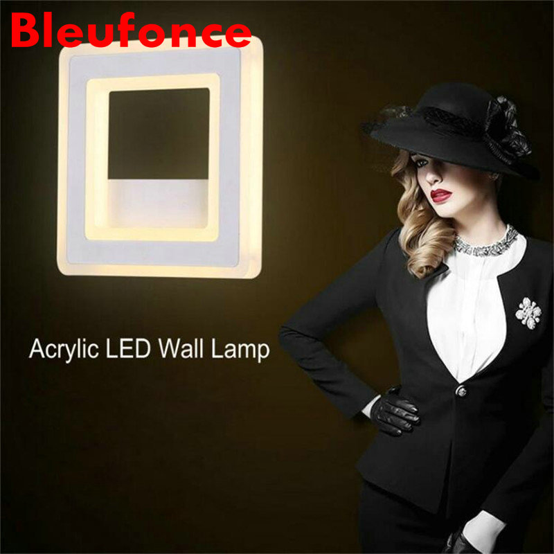 Wall Light  12W LED Wall Lamp Bedroom Bedside Living room Hallway Stairwell Balcony Aisle Balcony Lighting AC85-265V HZ64 modern bedside lamp wall light minimalist fabric shade wall sconces lighting fixture for balcony aisle hallway wall lamp wl214