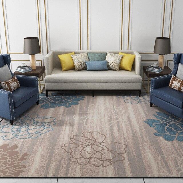 Moderne Blumen Teppich Bereich Teppich Für Parlor Wohnzimmer Teppich Küche  Bäder Matte Fußmatte Rutschfeste Tapetes Dekoration