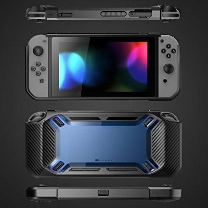 Купить с кэшбэком For Nintend Switch NS NX Console Shockproof TPU Heavy Slim Rubberized Hard Back Case Shell Protector For Nintendo Switch Guard