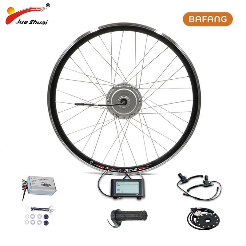 BAFANG 36 V 350 W 48 V 500 W ebike Elektro-bike conversion kit 8fun Marke ohne Batterie LCD display FM G020.350.D 10/FM G070.500