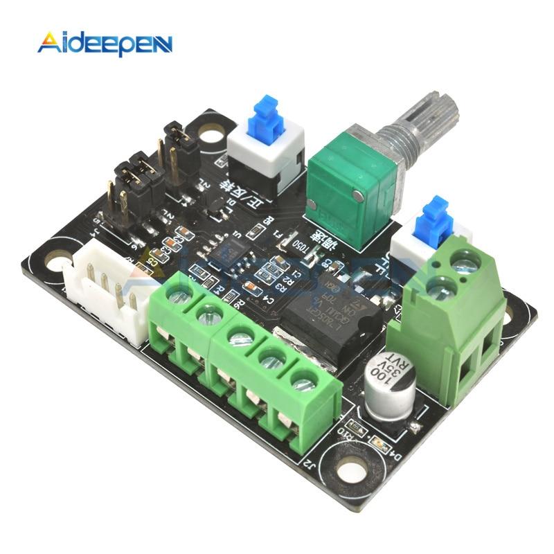 DC 12V 24V Stepper Motor Pulse Signal Generator Module For Stepper Motor Driver Controller Speed Regulator 8~24V