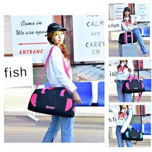 Image 5 - Sıcak spor çantası eğitim spor çantaları erkek kadın spor dayanıklı çok fonksiyonlu el çantaları açık spor kol çantası çantası erkek
