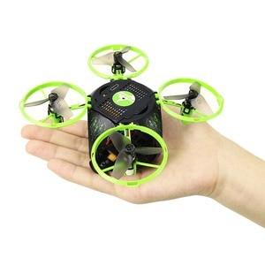 Image 3 - ドローン WIFI 折りたたみ球状 UAV 空中写真ミニ 4 軸航空機モデルおもちゃ UFO おもちゃ