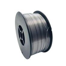1kg na rolkę beztlenowy spawanie Mig drut Flux Core spawacz drut stalowy drut rdzeniowy drut elektrodowy bez gazu na akcesoria spawalnicze