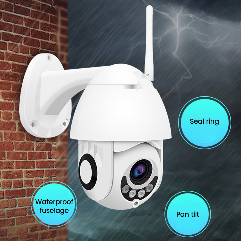 1080P PTZ IP Camera Outdoor Speed Dome Wireless Wifi Security Camera Pan Tilt Zoom IR Network CCTV Surveillance Camera  Cloud1080P PTZ IP Camera Outdoor Speed Dome Wireless Wifi Security Camera Pan Tilt Zoom IR Network CCTV Surveillance Camera  Cloud