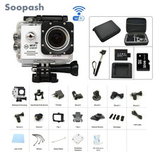Soopash Action camera Ultra HD WiFi 1080P 2.0 LCD go waterproof pro Camera Sport DV sj