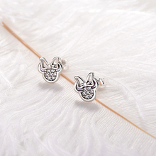 Sparkling Mickey Mouse Stud Earrings