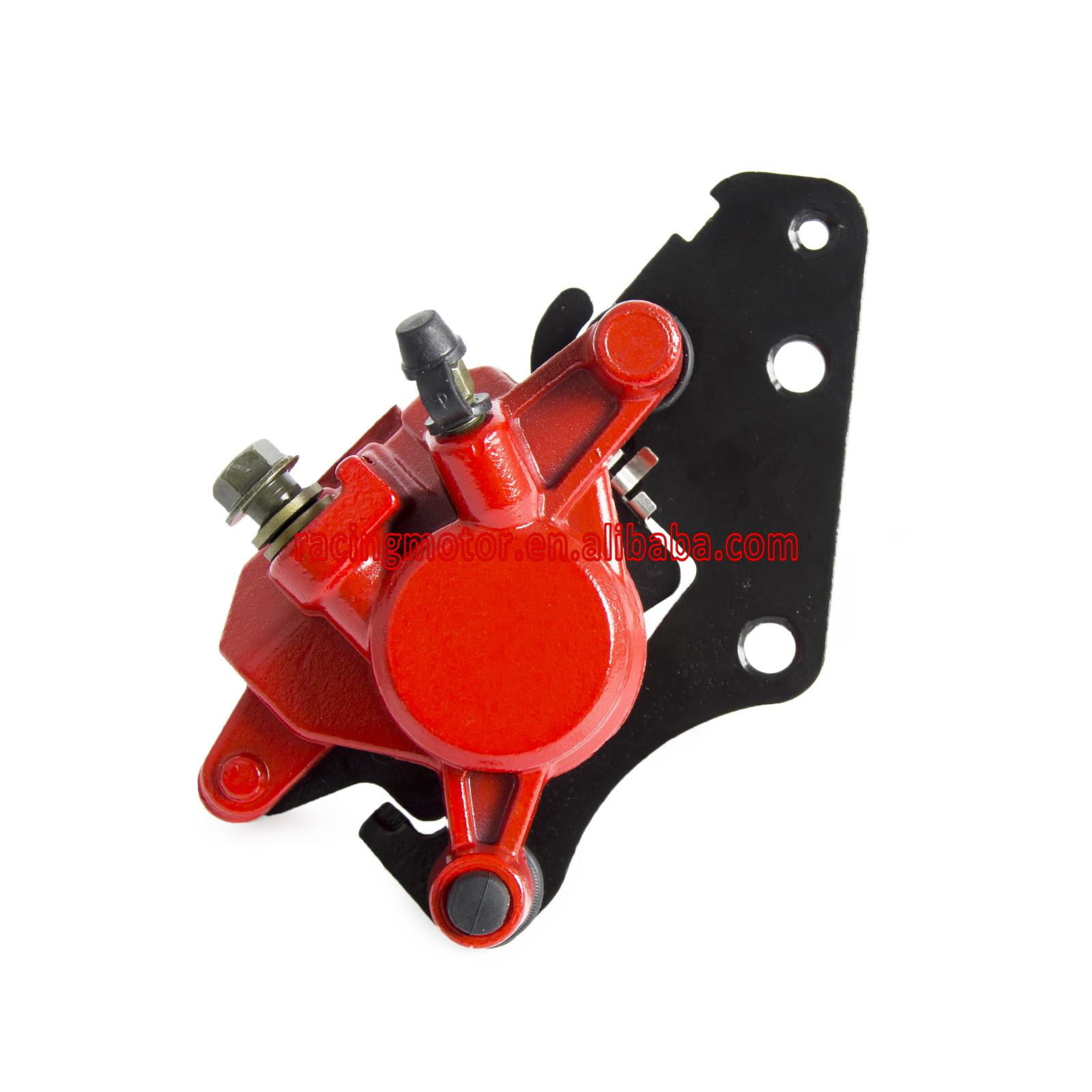 Brake Caliper Assy With Pads For Yamaha XC125E  32P-F580U-11-00 brake caliper assy with pads for yamaha xc125e axis treet e53j 2009 2013 210 2011 2012 number 32p f580u 11 00