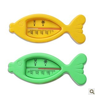 (5pcs/lot)Fish-shaped water temperature meter for baby bathe baby bath tub water sensor thermometer Free shipping