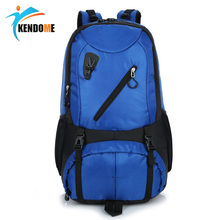 K D 40L Outdoor Backpack Unisex Travel Multi purpose Climbing Backpacks Hiking Large Capacity Rucksacks Camping