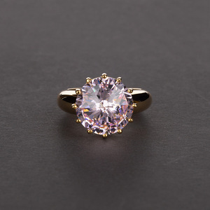 Image 2 - Rainbamabom Vintage 925 Sterling Silver Created Moissanite Gemstone Wedding Engagement Couple Ring Jewelry Wholesale Size 5 12