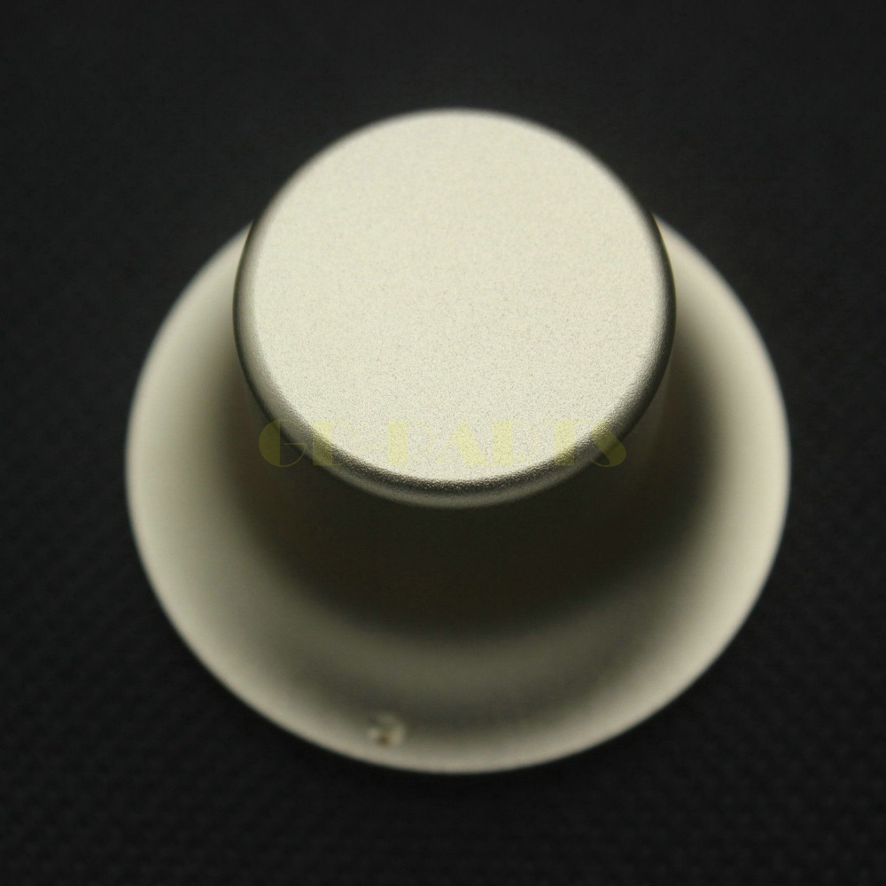 Solid Aluminum Pipe : Generic mm golden anodized cnc machined solid