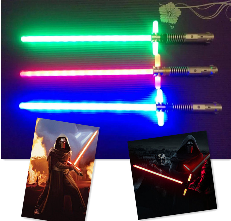 New Star Wars Lightsaber Rebels 65CM Darth Vader Weapon Toys Skywalker Lightsaber Toy Plastic Cosplay Laser Sword Lightsabe