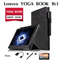 For Lenovo YOGA BOOK cases holster 10.1 inch YOGA BOOK Stand case laptop support package set of coat  Folding Slim Smart Cover