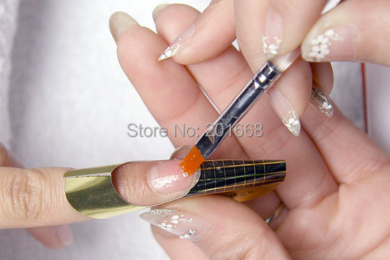 4 Styles Nail Form Multystilo 500pcs Roll Color Fly Art Guide Sticker Acrylic Uv Gel Tip Extension Paper Hoder In From Beauty