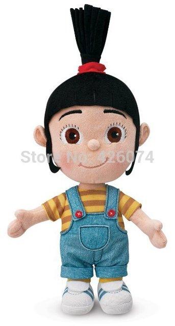 Nuevas muñecas de peluche de Agnés para niñas 30 CM niños juguetes de peluche niños regalos de navidad