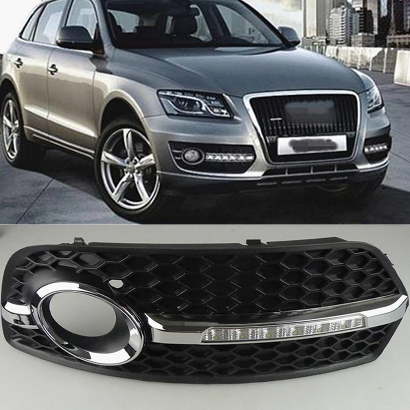 Car Flashing 1 Set DRL For Audi Q5 2010 2011 2012 2013 LED