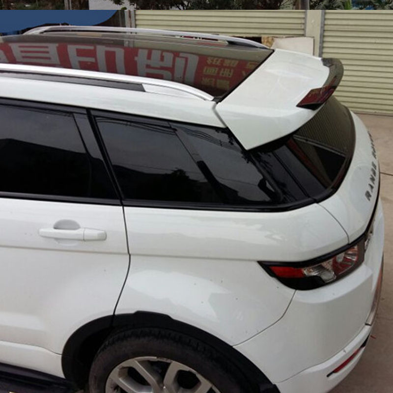 For Range Rover Evoque Rear Roof Spoiler Wing FRP Unpainted Primer 2010-2015 for 09 10 11 mazda 6 2nd vrs style roof spoiler wing unpainted puf