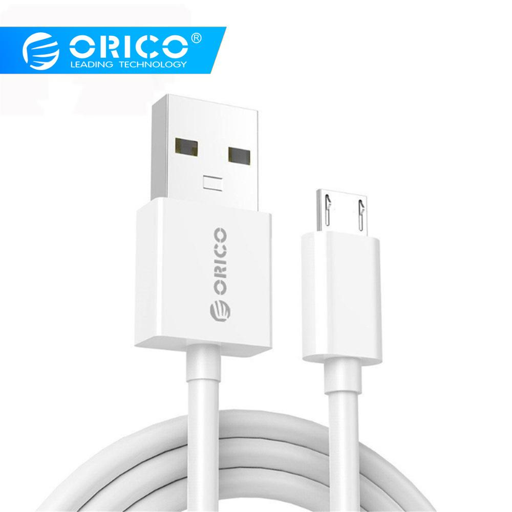 ORICO Micro USB Cable 0.5M 0.8M 1.0M 1.5M 2.0M Micro USB 2.0 Data Charging Cable For Samsung Xiaomi LG Android Phone