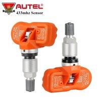4pcs/lot Autel MX Sensor 433mhz Universal TPMS Sensor MX Sensor 433 Mhz Support Tire Programming Work with Autel TPMS PAD TS401