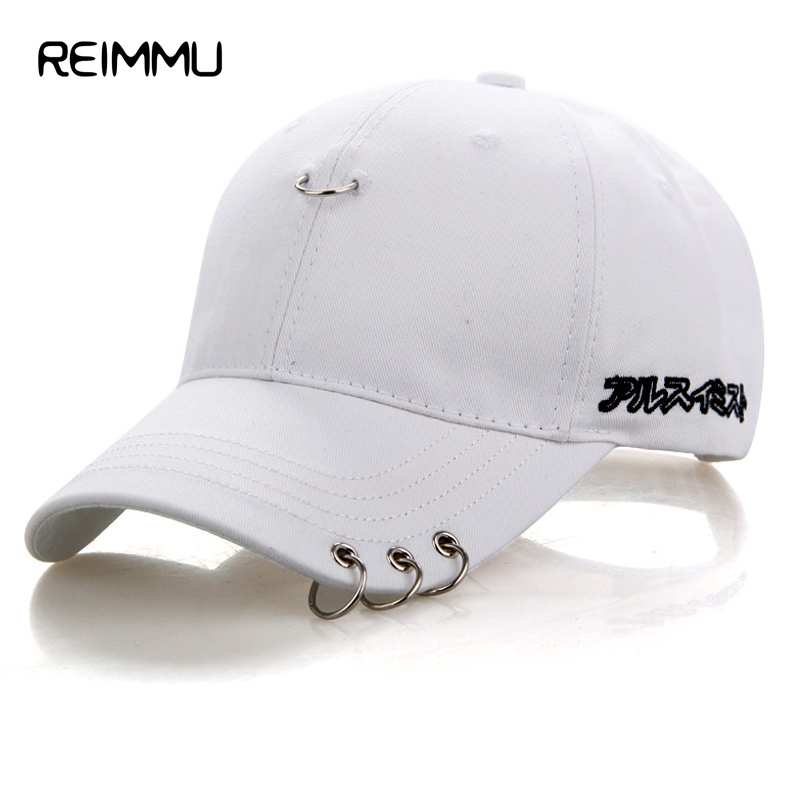 Reimmu Fashion Brand Snapback Caps Male Adjustable Size Hip Hop Hat Cap Unisex Men Women White Black Pink Baseball Cap Wholesale 2016 new new embroidered hold onto your friends casquette polos baseball cap strapback black white pink for men women cap