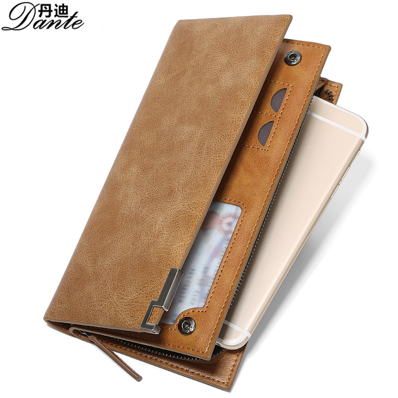 Fashion Lovers Wallets Genuine Cowhide Leather Women Long Organizer Zipper Clutch Bag Luxury Brand Cow Leather Men Wallet Purse luxury brand vintage handmade genuine vegetable tanned cow leather men women long zipper wallet purse wallets clutch bag for man