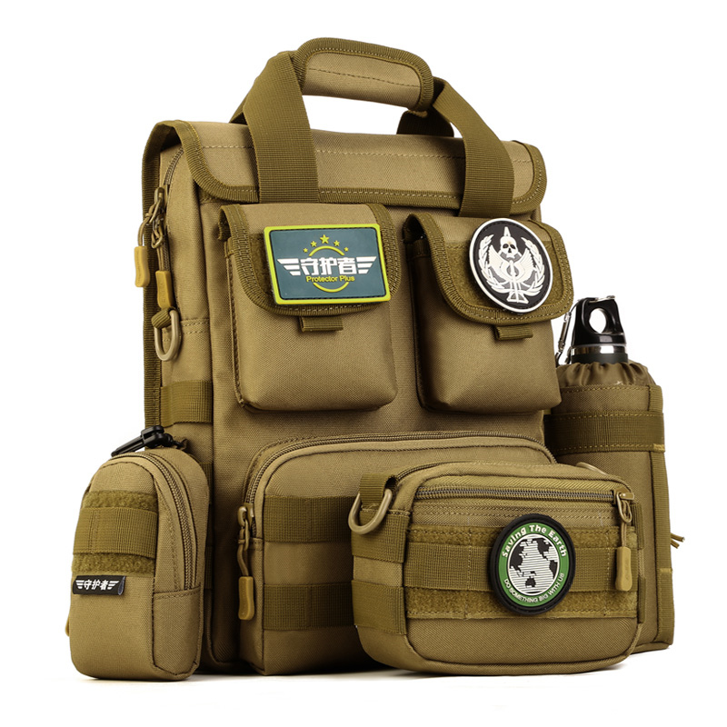 cf6d7cab32c Tactical Backpack Molle Pouches Military Sling Bag Outdoor Camping Hiking  Army Bag Rucksack Shoulder Bag Waterproof Backpacks -in Climbing Bags from  Sports ...