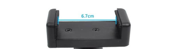 Self Selfie Stick Handheld Extendable Pole Monopod Phone Holder Adapter for Go Pro HERO 6 5 4 3+ Xiaomi YI 4K Lite SJCAM SJ5000