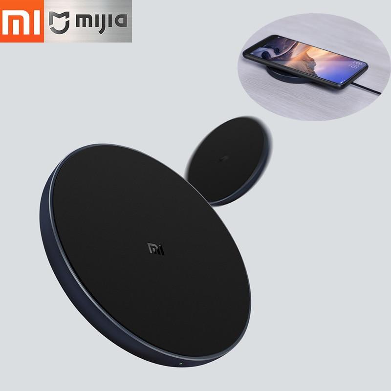 Origine Xiao mi Chargeur Sans Fil Qi Intelligent Rapide Charge Rapide Chargeur 7.5 w pour mi mi X 2 s iPhone x/8/8 Plus 10 w MAX Pour Sumsung S9